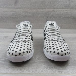 pretty nice 7373b 6da3f adidas Shoes - Adidas X The Farm Gazelle Polka Dot Shoes Womens